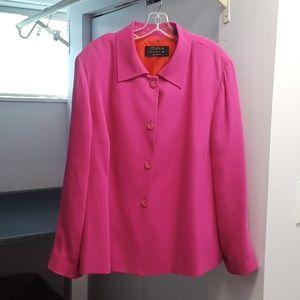 DANA BUCHMAN 22W silk jacket